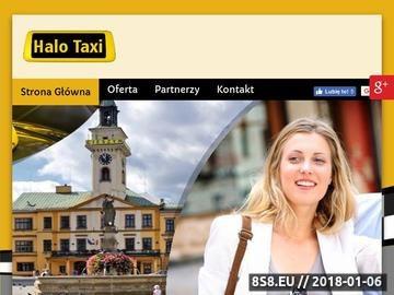 Zrzut strony Halo Taxi - taxi Cieszyn