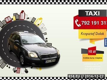 Zrzut strony Usługi taxi - obłsuga imprez i drobne zakupy