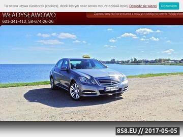 Zrzut strony A1 Radio Taxi Władysławowo
