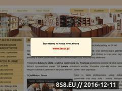 Miniaturka domeny www.taxor.com.pl
