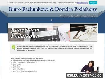 Zrzut strony Grażyna Pasternak biznes plan