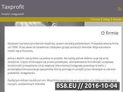 Miniaturka domeny taxprofit.pl