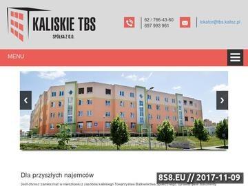 Zrzut strony KTBS mieszkania Kalisz