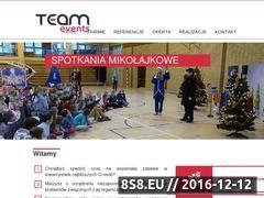 Miniaturka domeny www.teamevents.pl