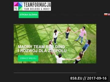 Zrzut strony Budowanie zespołów, team building, integracja