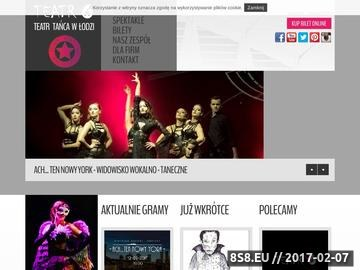 Zrzut strony Teatr Tańca V6