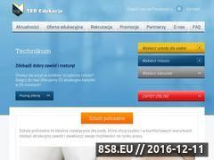 Miniaturka domeny www.teb.pl