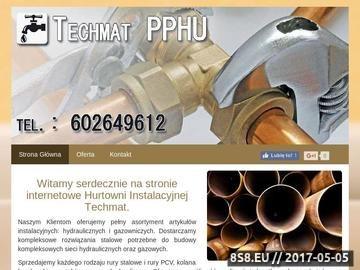 Zrzut strony Techmat - zawory hydrauliczne