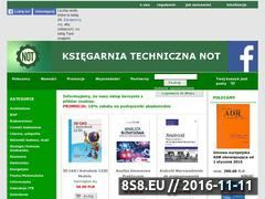 Miniaturka domeny www.technicznanot.pl