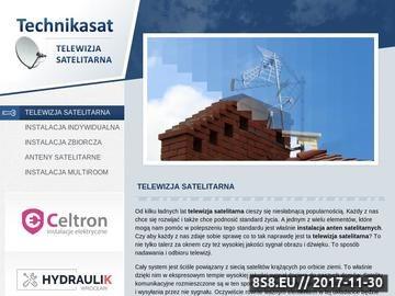 Zrzut strony Technikasat-Paweł Gwiazda