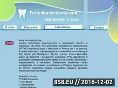 Miniaturka domeny www.technikdentystyczny.pl