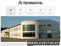Miniaturka domeny www.technostal.eu