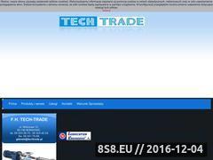 Miniaturka domeny www.techtrade.pl