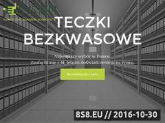 Miniaturka domeny teczkibezkwasowe.pl