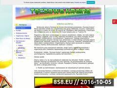 Miniaturka domeny teczowakraina.com.pl