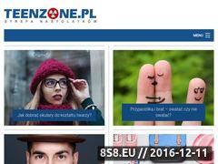 Miniaturka domeny www.teenzone.pl