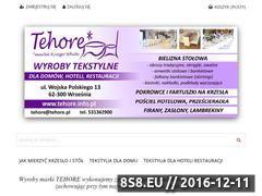 Miniaturka domeny www.tehore.pl