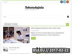 Miniaturka domeny tekstodajnia.pl