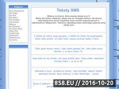 Miniaturka domeny www.teksty-sms.cba.pl