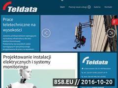 Miniaturka domeny www.teldata.pl