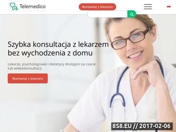 Zrzut strony Lekarze online