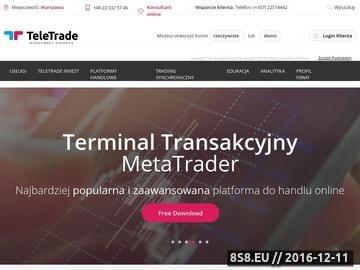 Zrzut strony TeleTrade-Dj.pl