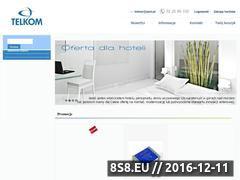 Miniaturka domeny telkom.com.pl