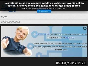 Zrzut strony Serwis monitorów Warszawa