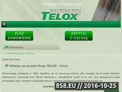 Miniaturka domeny telox.pl