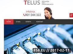 Miniaturka domeny telus.com.pl