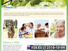 Miniaturka domeny www.tena.pl
