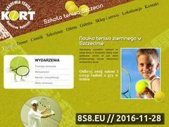 Miniaturka domeny tenis-rudnicki.pl