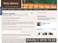 Miniaturka domeny tenisziemny.info