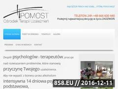 Miniaturka domeny terapiapomost.pl