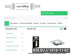 Miniaturka domeny www.teraz-led.pl