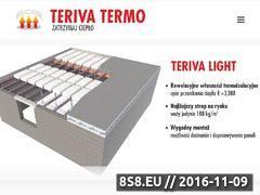 Miniaturka domeny www.terivatermo.pl