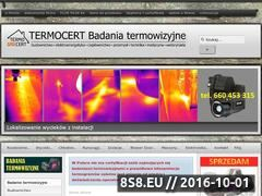 Miniaturka domeny termocert.com.pl