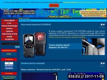 Zrzut strony Profesjonalne kamery termowizyjne - TERMOWIZJA.EU