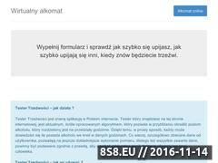 Miniaturka domeny www.testertrzezwosci.com
