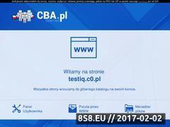 Miniaturka domeny www.testiq.c0.pl