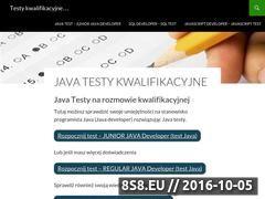 Miniaturka domeny testykwalifikacyjne.pl