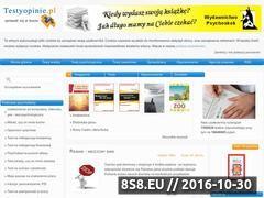Miniaturka domeny www.testyopinie.pl