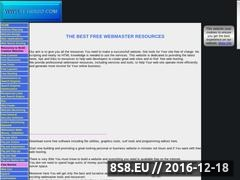 Thumbnail of The best free webmaster resources Website