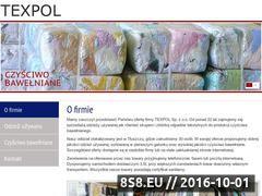 Miniaturka domeny www.texpol.com.pl