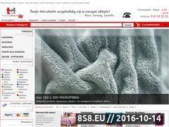 Miniaturka domeny www.textyliadomowe.pl