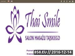 Thai Smile - Traditional Thai Massage in Poznan Website