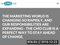 Thumbnail of The CMO Club - The world's best CMO conversations Website