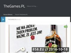 Miniaturka domeny thegames.pl
