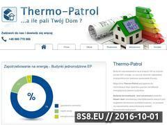 Miniaturka domeny www.thermo-patrol.pl