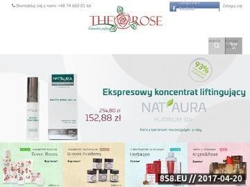 Zrzut strony The Rose - kosmetyki organiczne